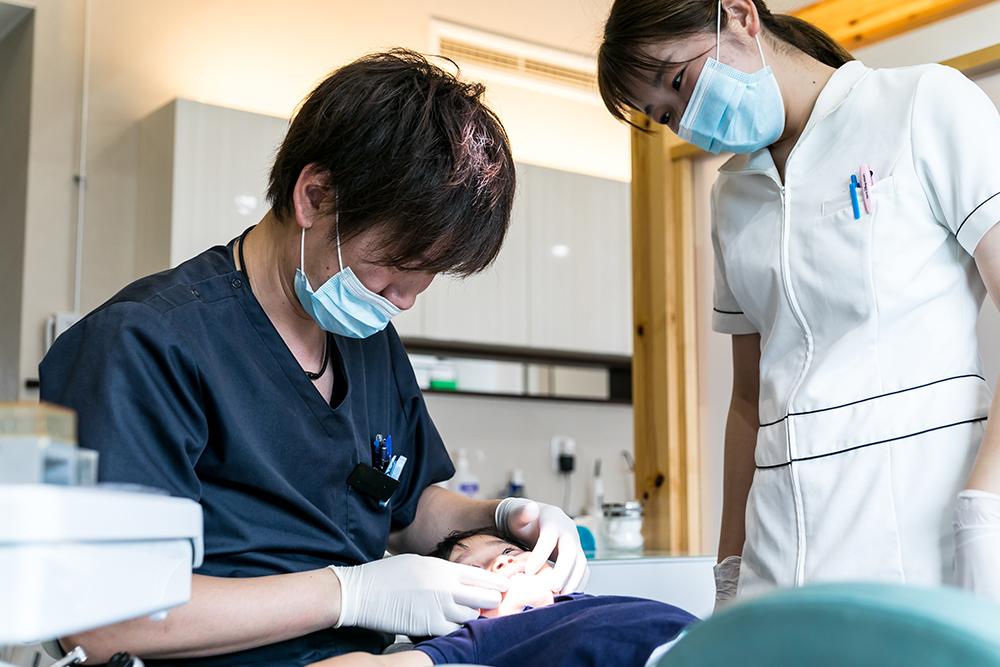 「痛みの少ない」「できるだけ削らない・抜かない」むし歯治療